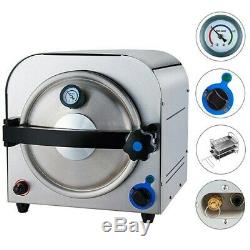 Dental Medical 14L Autoclave Steam Sterilizer Sterilization Equipment 110V/220V