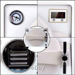 Dental Medical 18L Autoclave Steam Sterilizer TR250NM Sterilization Equipment US