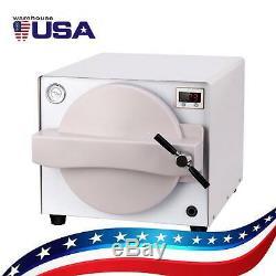 Dental Medical 18L Autoclave Sterilizer Vacuum Steam Sterilization Automatically