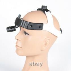 Dental Medical 3W LED Wireless Headlight Headlamp Surgical ENT Oral Gynecology