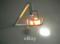 Dental Medical Oral Cold Light Surgical Lamp Shadowless Wall Hanging+Support Arm