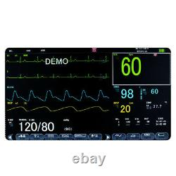 Dental Medical Patient Monitor ICU CCU Vital Sign Multi Parameter ECG Monitoring