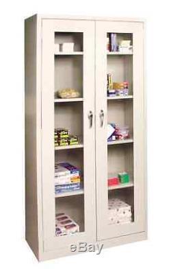 Dental Medical Supply Storage Cabinet WithSteel Structure Locking Doors