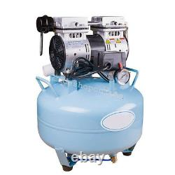Dental Medical silent Noiseless Oil fume Oilless Air Compressor UNIT 30L w gift