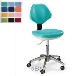 Dental Mobile Chair Medical Dentist's Chair Doctor's Stool PU Leather HS-3