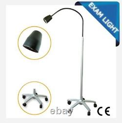 Dental Mobile Light Stand Medical Auxiliary Light LED Exam Examination Lamp