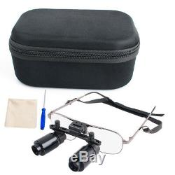 Dental Surgical 4X Binocular Loupes Medical Glasses Dentist Magnifier 300-500mm