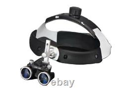 Dental Surgical Medical Binocular Loupes 3.5X420mm Optical Glass HEADBAND