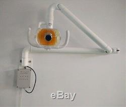 Dental Wall-Mounted Halogen Light 50W Surgical Medical Shadowless Light with Arm