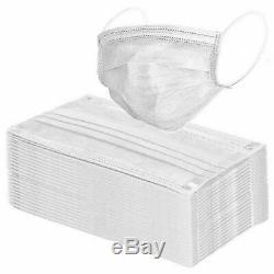 Disposable Face Masks Medical Dental 3-Ply USA SELLER