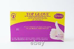 Disposable Latex Medical Dental Exam Gloves Powder Free Various Sizes 1000/Case