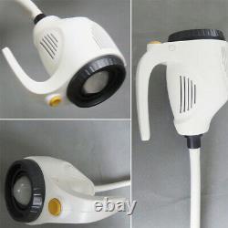 Floor Stand Mobile 21W Surgical Medical Dental LED Exam Light Lamp Examination
