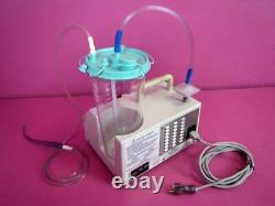 Gomco 4005 Medical Dental Surgical ASPIRATOR Vacuum Suction Pump with New Canister