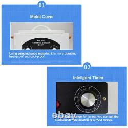 Heat Sterilizer Cabinet Autoclave Nail Dental Medical Disinfect Salon H