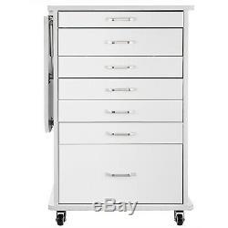 Medical Dental Assistant's Mobile Cabinet Alabama Cart Utility Cart 5 Drawer