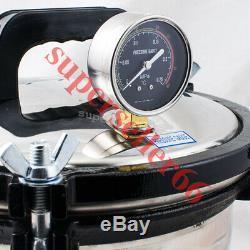 Medical Dental Equipment Stainless Steel Pressure Steam Autoclave Sterilizer 8L