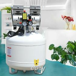 Medical Noiseless Oil Free Oilless Air Compressor 40L 750W for Dental Lab Chair