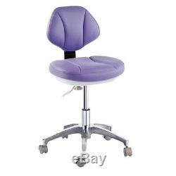 Microfiber Leather Medical Dental Dentist's Chair Doctor's Stool Mobile Chair