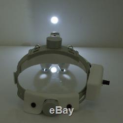 NEW 3.5X 420mm 2in1 medical optical Dental Binocular Loupes Magnifier Headlight