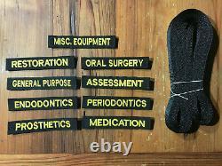 NEW S. O. Tech Rapid Access Modular Medical Panel Dental NSN 6520-01-530-3399