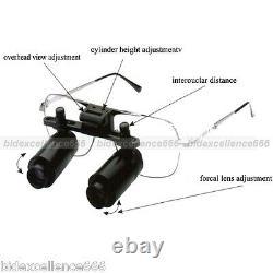 New Dental Loupes 6 X300-500mm Medical Binocular Glasses Magnifier