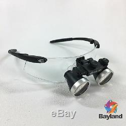 New Seiler 2.5x 340mm Black 250BLKG Dental Medical Surgical Loupes withAccessories