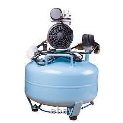 Portable Dental Medical Air Compressor Silent Quiet Noiseless Oilless Compressor
