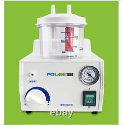 Portable Dental Medical Emergency Vacuum Phlegm Suction Unit Electric O