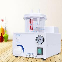 Portable Dental Phlegm Suction Unit Emergency Medical Vacuum Aspirator Machine