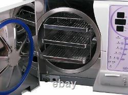 SUN 12L Professional Dental Medical Vacuum Steam Autoclave Sterilizer + Printer