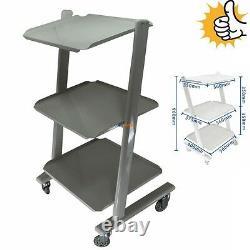 Steel Cart Trolley Doctor Dentist Trolly for Salon Spa Dental Medical Equipment