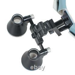 Surgical 3.5X-R Dental Headband Medical Binocular Loupes Magnifier LED Headlight
