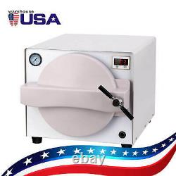 UPS 18L Dental Autoclave Sterilizer Steam Medical Sterilization Automatically