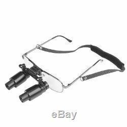 USADental Loupes 6.5X Medical Binocular Glasses Magnifier 300-500mm Denshine