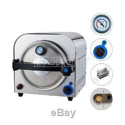 Ups 14L Dental Lab Equipment Autoclave Steam Sterilizer Medical Sterilization