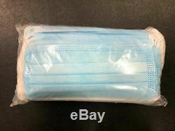 1000 Pcs Visage Masque Chirurgical Médical Earloop Dentaire À Usage Unique 3-ply Bouche Couverture