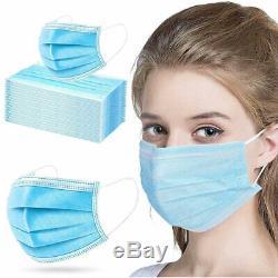 1000 Pcs Visage Masque Chirurgical Médical Jetable Dentaire Bouche 3-ply Couverture Lot
