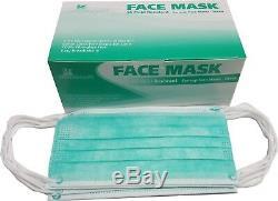 100 Pcs 3-ply À Usage Unique Masque Facial Laboratoire Dentaire Ongles Hôpital Anti-poussière Médicale