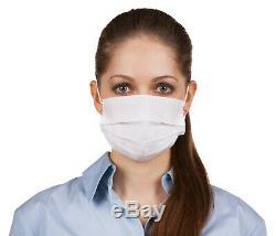 100 Pcs À Usage Unique Masque Facial Chirurgical Médical Dentaire Earloop Anti-poussière 3-ply