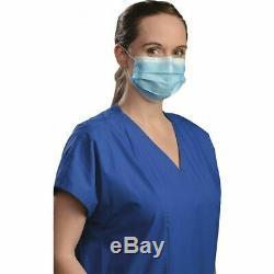100 Pcs Visage Jetable Masque Médical Dentaire 3-ply Ships Fedex 2 Jours Premium