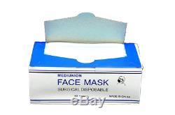 10 Box 500 Pcs À Usage Unique Masque Chirurgical Industriel 3-ply Dentaire Médicale