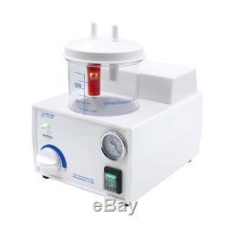 110v Dental Lab Unité D'aspiration Portable Aspirateur Médical À Vide Flegme