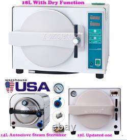 14l/ 18l Dental Autoclave Steam Sterilizer Medical Sterilization Lab Equipment (en)