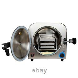 14l 900w Laboratoire Dentaire Autoclave Stérilisateur Steam Matériel De Stérilisation Médicale