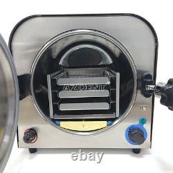 14l Dental Lab Autoclave Steam Sterilizer Medical Sterilization Equipment 110v