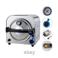 14l Dental Medical Autoclave Steam Stérilisateur Sterilization Equipment 900w