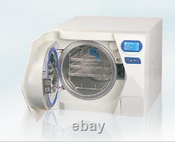 17l Dental Autoclave Stérilisateur Médical Stérilisation Vapeur Sous Vide Avec Imprimante