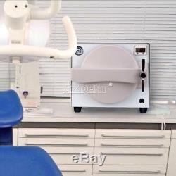 18 Litres Autoclaves À Vapeur Stérilisateur Stérilisation Médicale Dentaire Équipement De Laboratoire
