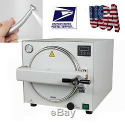 18 Litres Dentaire Équipement De Laboratoire Autoclaves À Vapeur Stérilisateur Sterilizition Médicale