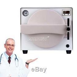 18 Litres Équipement De Laboratoire Dentaire Stérilisateur À Vapeur Autoclaves Médical En Acier Inoxydable